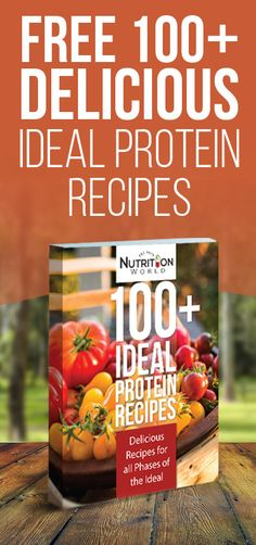 Get Our 100+ Ideal Protein Recipes E-book. Because losing weight can be more enjoyable when the food satisfies your spicy, sweet & salty taste buds! #nutrition #recipes #ebook #protein #weightloss #idealprotein