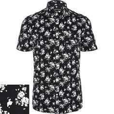 White And Black Mens Shirt | Is Shirt