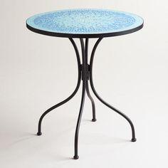 #worldmarket.com          #table                    #Turquoise #Cadiz #Mosaic #Bistro #Table            Turquoise Cadiz Mosaic Bistro Table                                           http://www.seapai.com/product.aspx?PID=72375