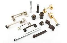 Emtek || Matching Door Accessories Including Door Stops, Slide Bolts,  Bumpers, And