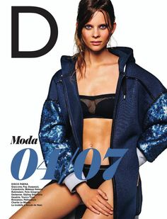 Fay for D Repubblica Italy. Women's Spring Summer 2015 collection.