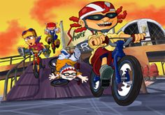 I miss Rocket Power! Famous Cartoons, 90s Cartoons, Cartoon Fan, Cartoon Shows, Power Wallpaper, Flying With Kids, Rocket Power, Thanks For The Memories, 90s Nostalgia