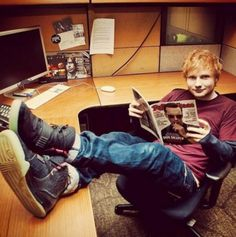 Ed just chilling