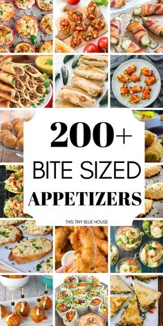 Are you looking for some easy bite sized appetizers for an upcoming event? Are you looking for some easy bite sized appetizers for an upcoming event? Here are 200 easy bite sized appetizers that are great starter for any event. Party Finger Foods, Finger Food Appetizers, Snacks Für Party, Appetizers For Party, Easy Bite Size Appetizers, Easy Thanksgiving Appetizers, Superbowl Party Food Ideas, Healthy Appetizers, Game Night Snacks