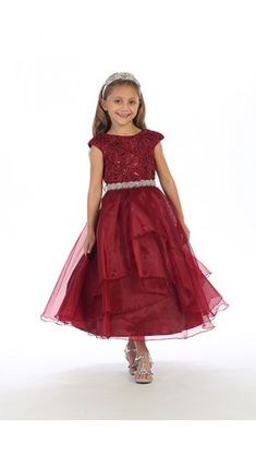 c983624bf Joy Kids Flower Girl Dress available at The Bridal Shoppe in St. Louis, Mo