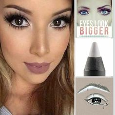 Step One: Use under your brow to highlight Step Two: Use on lid under eyeshadow to make any colour pop Step Three: Use on your water line to brighten eyes, and give the illusion of bigger eyes For other tips and tricks Follow The Beauti Brat on Facebook