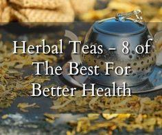 Herbal Teas - 8 Of the Best For Better Health