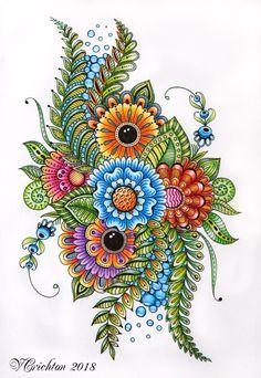 Viktoriya Crichton_ My zentangle, doodle, zendala, coloring page, graphicks. Welcome to my world)_ https://www.etsy.com/ru/shop/ZentangleHouse_____ http://viktoriya-crichton.mozello.ru/