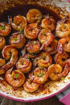 & Healthy Dinner: 20 Minute Honey Garlic Shrimp Easy, healthy, and on the table in about 20 minutes! Honey garlic shrimp recipe on Easy, healthy, and on the table in about 20 minutes! Honey garlic shrimp recipe on Shrimp Recipes For Dinner, Shrimp Recipes Easy, Garlic Recipes, Seafood Recipes, Cooking Recipes, Healthy Recipes, King Prawn Recipes, Easy Recipes, Honey Recipes