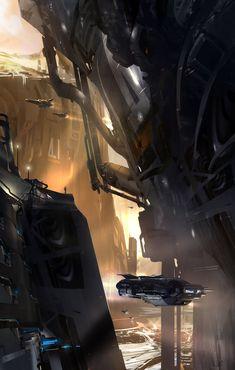 Visions of Mars, sparth - nicolas bouvier on ArtStation at http://www.artstation.com/artwork/visions-of-mars