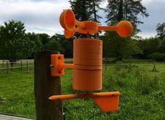 objet connecte projet diy anemometre girouette esp8266 wemos d1 mini