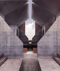 Hurva Synagogue By Louis Kahn I hope some day they will build this. One of Kahn's best.