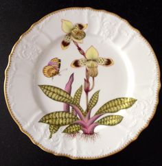 Anna Weatherley Porcelain Orchids Dinner Plate 5