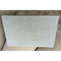 White Sandstone Disc Sanding Villa Wall Cladding Tile