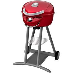 Char Broil Patio Bistro Infrared 240 Square Inch Electric Grill, Red