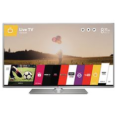 "Buy LG 47LB650V LED HD 1080p 3D Smart TV, 47"" with Freeview HD Online at johnlewis.com"