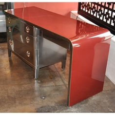 1940 Vintage desk designed by Norman Bel Geddes
