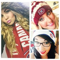 Cold weather won't stop these fans from showing their Habs! Sports Jerseys, Montreal Canadiens, Cold Weather, Hockey, Fans, Board, Girls, Toddler Girls, Daughters
