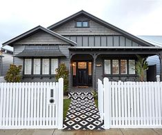 The weatherboard home Ronnie and Georgia's house renovated as part of The Block 2017 has been repainted. Story: Homes To Love