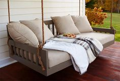 Porch swing/daybed/nap spot :)