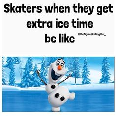 Extra ice time would be amazing right now to destress from my last quarter of nursing school.