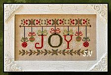 Ornamental Joy - cross stitch chart from Country Cottage Needleworks