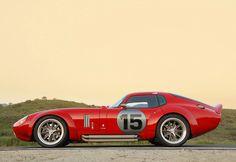 'Brock' Daytona Coupe. Modern version of the Shelby Daytona Coupe, by Peter Brock.
