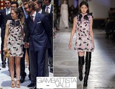 Princess Alexandra of Hanover and her brother Pierre Casiraghi - Giambattista Valli Spring 2018 Couture Collection