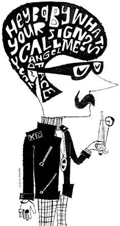 Donna Grethen illustrations in pen & ink with a lot of color. Web Design Inspiration, Illustration, Concept Art, Ink, Conceptual Art, Illustrations, Character Illustration, Ink Art