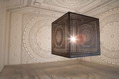 Artist Explores Culture And Religion With Light And Shadow Installation - DesignTAXI.com
