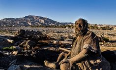 An iranian man who hasn't bathed in 60 years. - Imgur