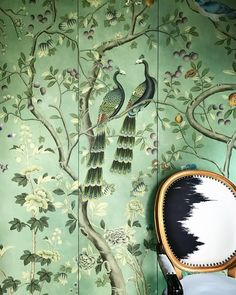 "1,920 Likes, 12 Comments - de Gournay (@degournay) on Instagram: ""... whilst the other side of the world, interior designer @baptistebohu has just had the same 'St…"""