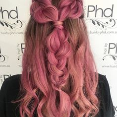 • p i n k • .  . .  Hair by Bec at our Carlingford Salon .  .  .  Using @schwarzkopfproanz . .    #hair #hairstyles #haircolour #haircut  #pink #fashion #braids #instafashion #squad #braid #style #messyhair #hairoftheday #hairideas #balayage #perfectcurls #hairfashion #hairofinstagram #coolhair #coral #picoftheday #ombre #highlights #babylights #colour #schwarzkopfproanz #pinkhair #strawberry #strawberryblonde