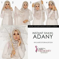 What is best way to wear the headscarf? How way of wearing scarf to not too tight in neck area and head? Here we provide some ti. Tutorial Hijab Segitiga, Simple Hijab Tutorial, Scarf Styles, Hijab Styles, Hijab Wedding Dresses, Hijab Fashion Inspiration, Leopard Fashion, Turban Style, Islamic Clothing