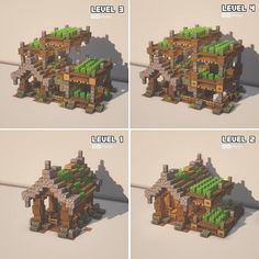 Plans Minecraft, Minecraft Building Guide, Minecraft Farm, Minecraft Mansion, Minecraft Castle, Minecraft Medieval, Cute Minecraft Houses, Minecraft Survival, Minecraft Construction