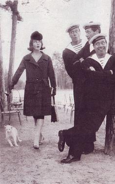 Audrey Hepburn and Mel Ferrer, Harper's Bazaar, September 1959, photo by Richard Avedon