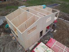 Panel estructural de madera / multicapa / macizo / para casa con estructura - CLT - SCHILLIGER Bois SAS