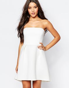 94127672c249c Shop Oh My Love Bandeau Prom Dress at ASOS.