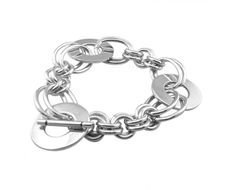 BT1028 sterling silver linked circles bracelet http://www.tianguis.co.uk/shop/index.php/sterling-silver-wristwear/bt1028-sterling-silver-linked-circles-bracelet.html
