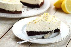 Przepis na Ciasto czekoladowe z musem cytrynowym