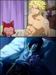 Sting and Rogue from Fairy Tail.