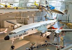 October 13, 1950: prototype Lockheed L-1049 Super Constellation made its 1st flight. The Museum's Constellation pictured here on display at the Udvar-Hazy Center in Chantilly, VA.