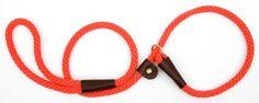 Mendota Products Dog Slip Lead, Orange, 1/2-Inch x 6-Feet - http://www.thepuppy.org/mendota-products-dog-slip-lead-orange-12-inch-x-6-feet/