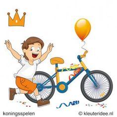 Nog niet toegekomen aan de voorbereiding voor Koningsdag? Kijk dan bij koningsspelen voor kleuters op kleuteridee.nl voor 15 leuke spellen.