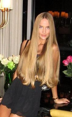 extremely long blonde hair - Google Search