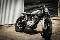 """Tomahawk"" YamahaSR400 by Gasoline Custom Motorcycle's | Australia"