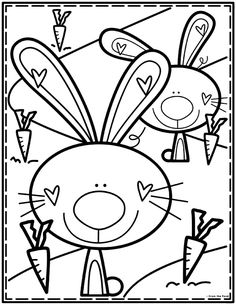 Coloring Club Library — From the Pond is part of Kindergarten coloring pages - Spring Coloring Pages, Easter Coloring Pages, Colouring Pages, Coloring Pages For Kids, Coloring Books, Fairy Coloring, Color Club, Spring Art, Spring Crafts
