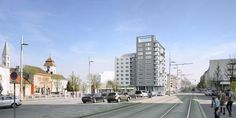 Simmeringer Hauptstraße 171 Modern Design, Street View, Contemporary Design