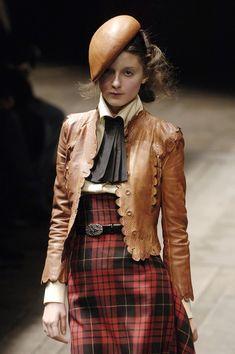 Alexander McQueen Fall Tartan ~ that jacket!