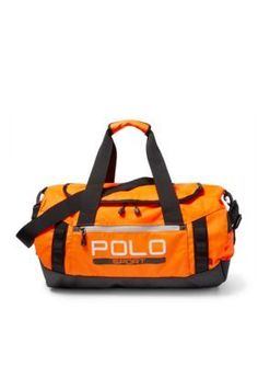 47ccc88d2c Polo Sport POLO SPORT DUFFLE RES ORANGE Duffel Bag